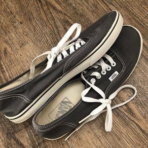 Vans   Grey Classic Sneakers